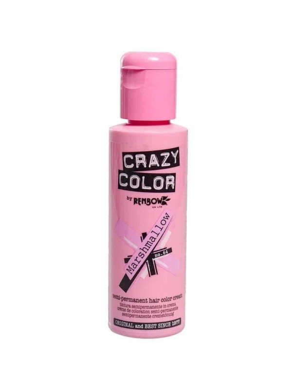 Coloration Semi Permanente Pour Cheveux Crazy Color Marshmallow