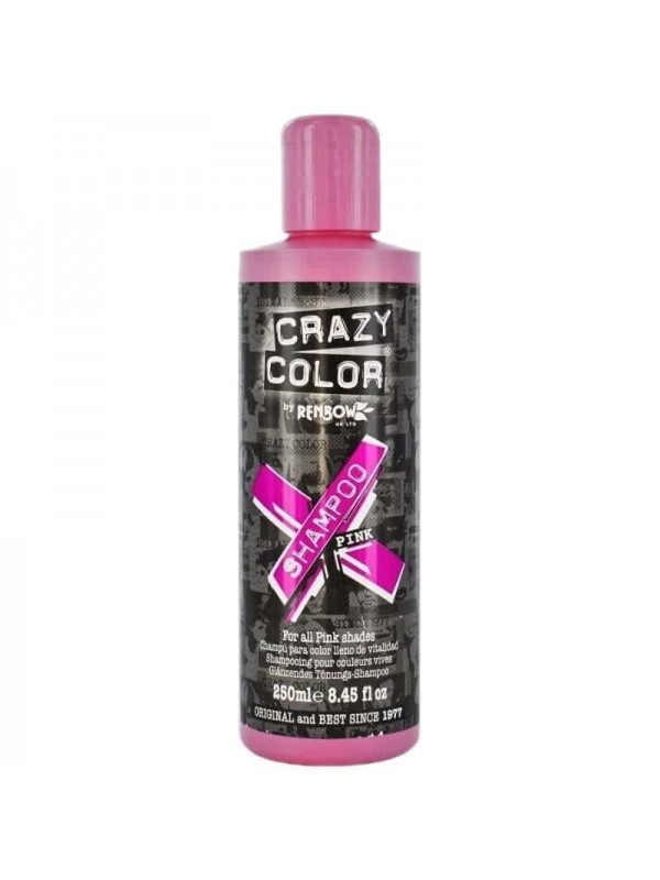 Shampooing Repigmentant Pink 250ml Crazy Color