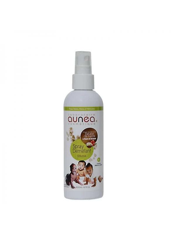 Spray Démêlant Cheveux Bébé Enfant 200ml, Aunea Cosmetique
