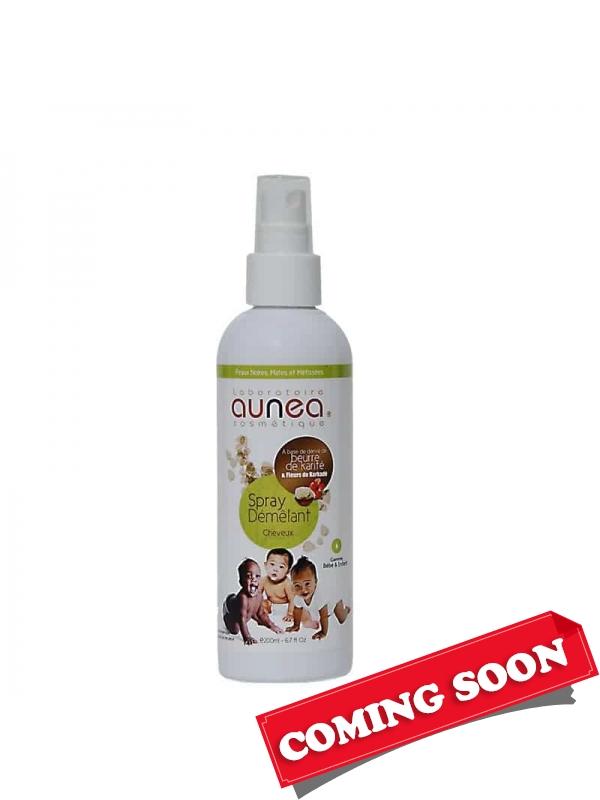 Spray Démêlant Cheveux Bébé Enfant 200ml, Aune...