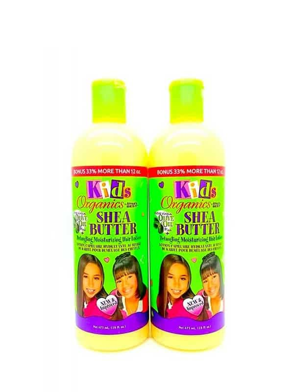 Kids Organic Detangling Moisturizing Hair Lotion L...