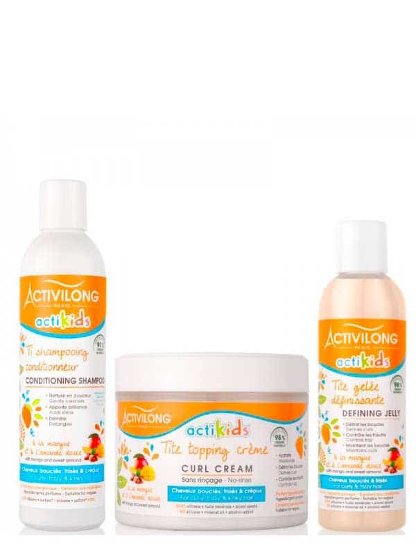 Pack Ti Curly Actikids, Activilong