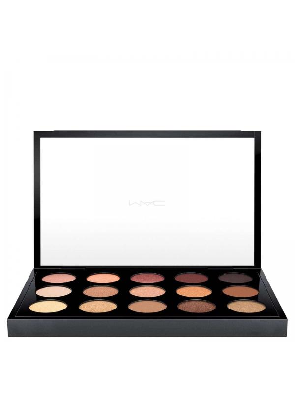 Palette de 15 ombres à paupières de MAC - Warm Palette