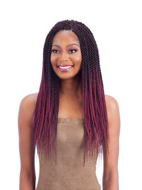 FreeTress 81 Pre – Feathered Senegalese Twist
