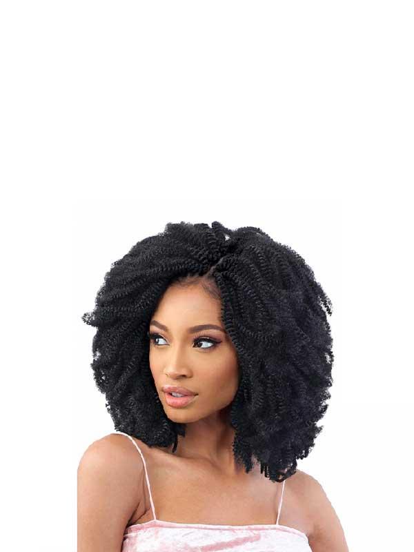 2x Nubi Spring Twist Crochet Braid Freetress