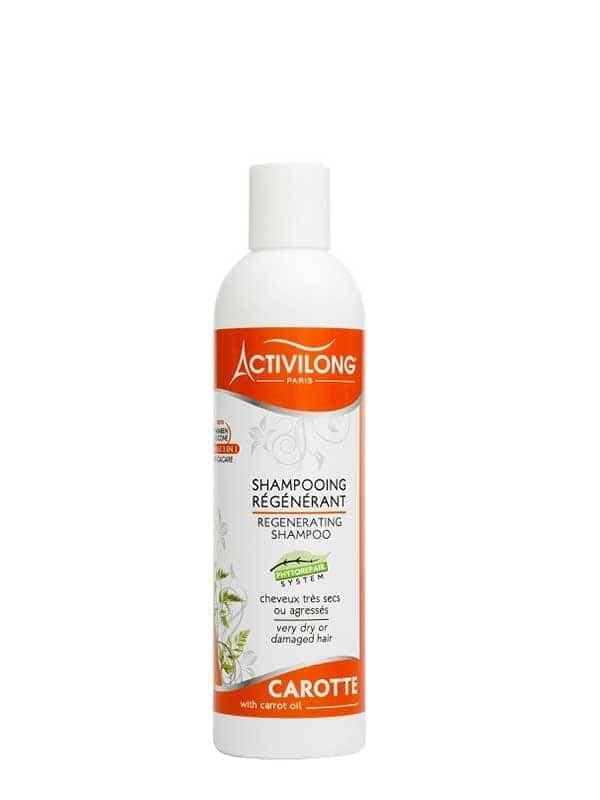 Shampooing régénérant à l'huile de Carotte