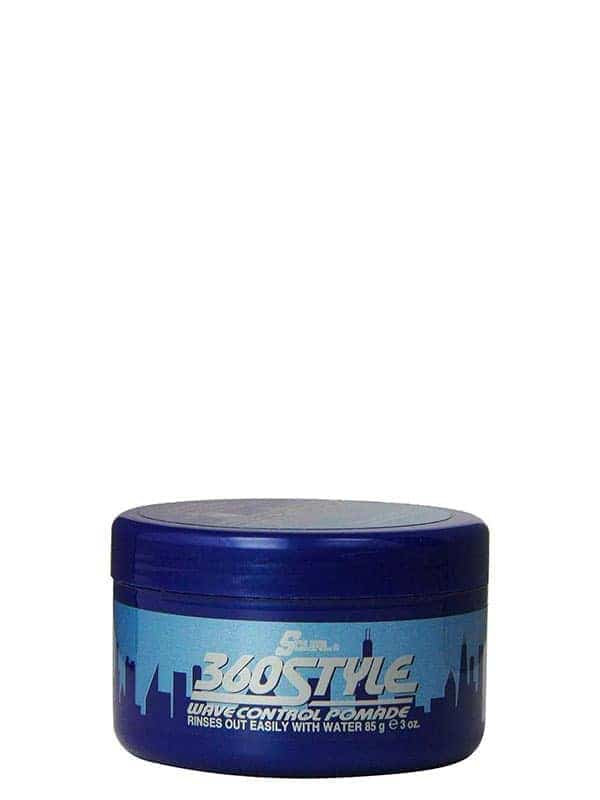 360 Style Wave Control Pomade 85g Luster's S-curl