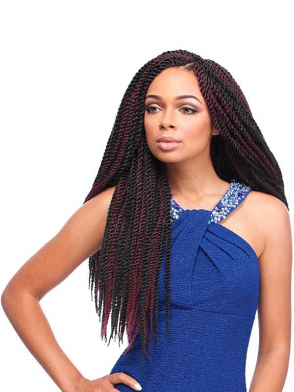 African Collection Senegal Twist Braid 40″