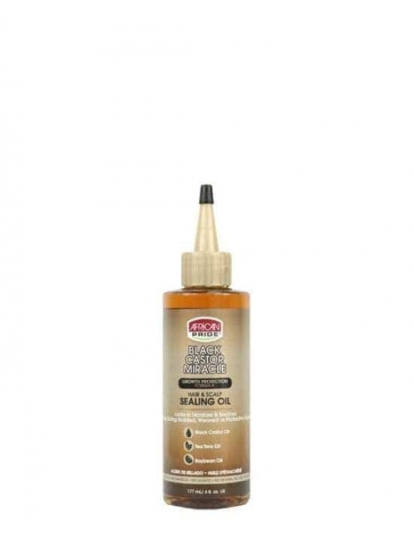 BLACK CASTOR MIRACLE HAIR & SCALP SEALING OIL