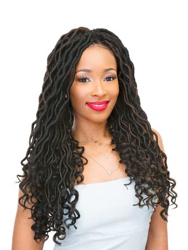 Crochet Braid Jamaican Faux Loc Sleek Hair