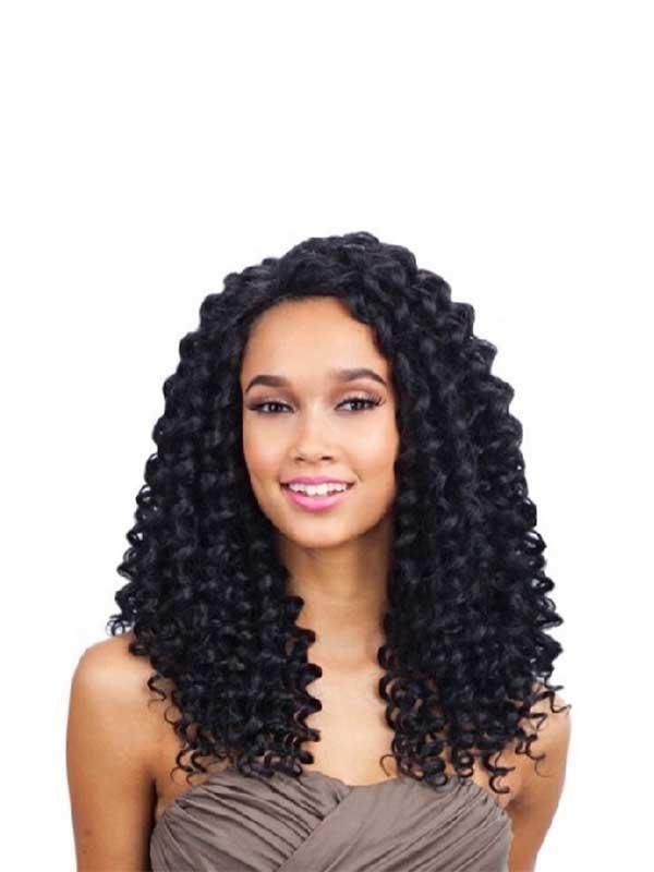 Equal Perruque Plush Curl Deep Invisible Part