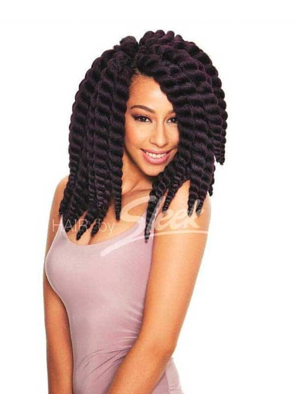"Fashion Mambo Satin 12"" Sleek Hair"
