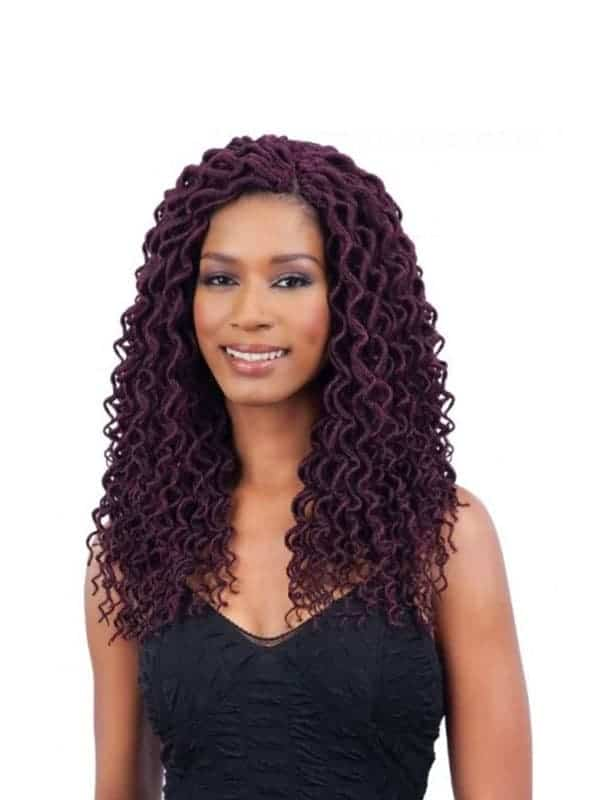 FreeTress Soft Curly Faux Loc 12″