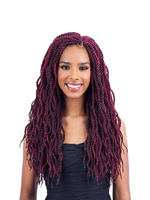 FreeTress Wavy Senegalese Twist 18″