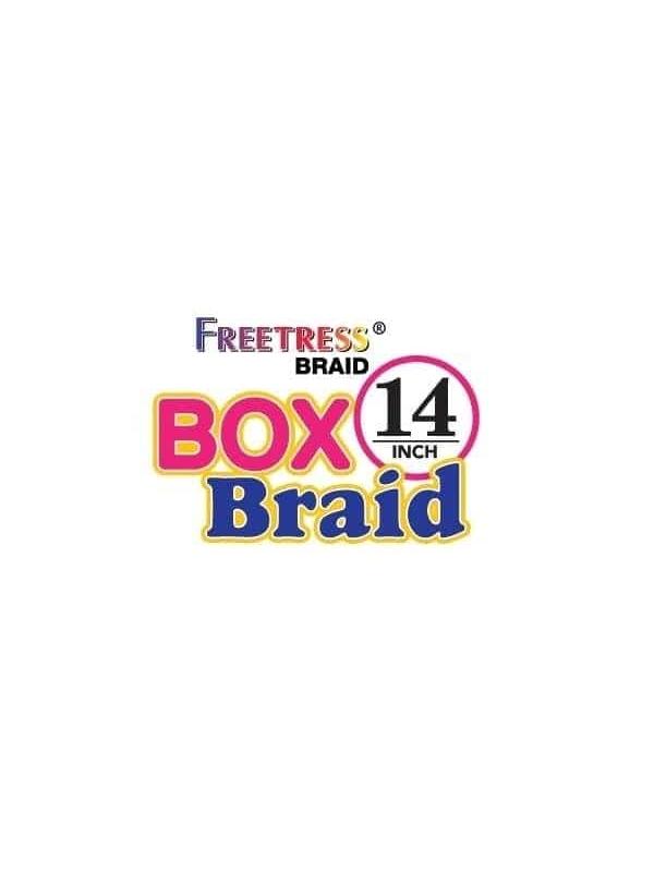 Free Tress Med Box Braid 14″