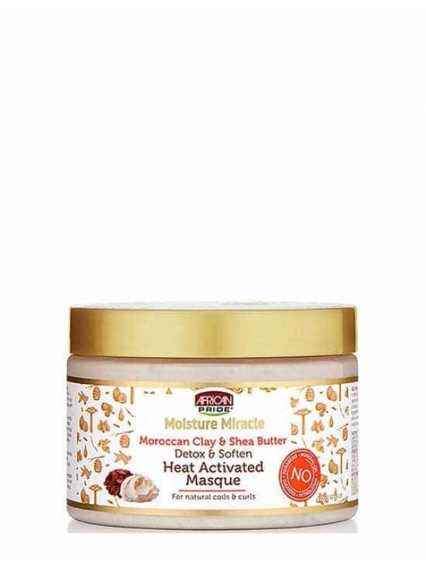 MOISTURE MIRACLE MOROCCAN CLAY & SHEA BUTTER HEAT
