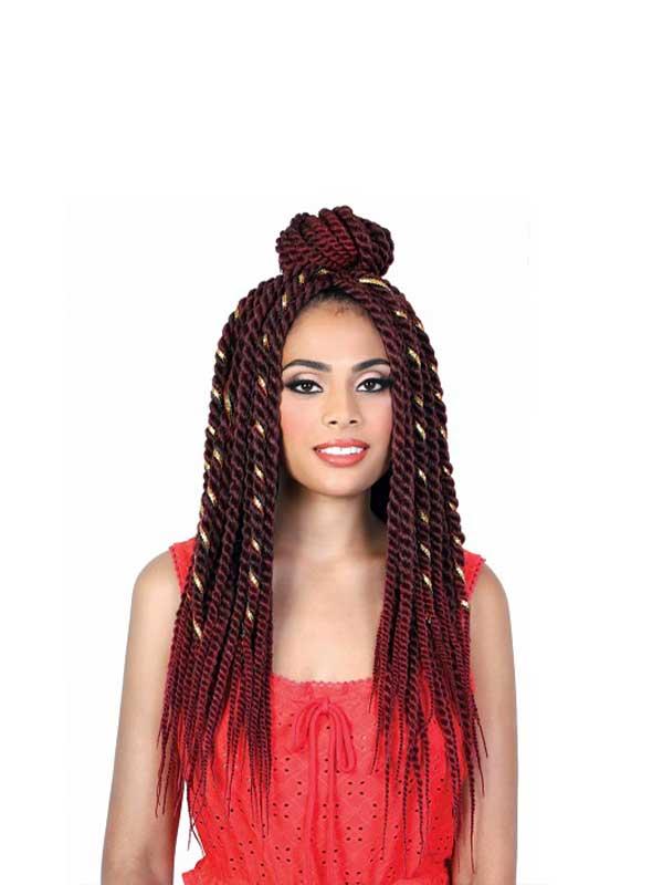 "Motown Tress Togo Afro twist Braid 22"" Crochet B..."