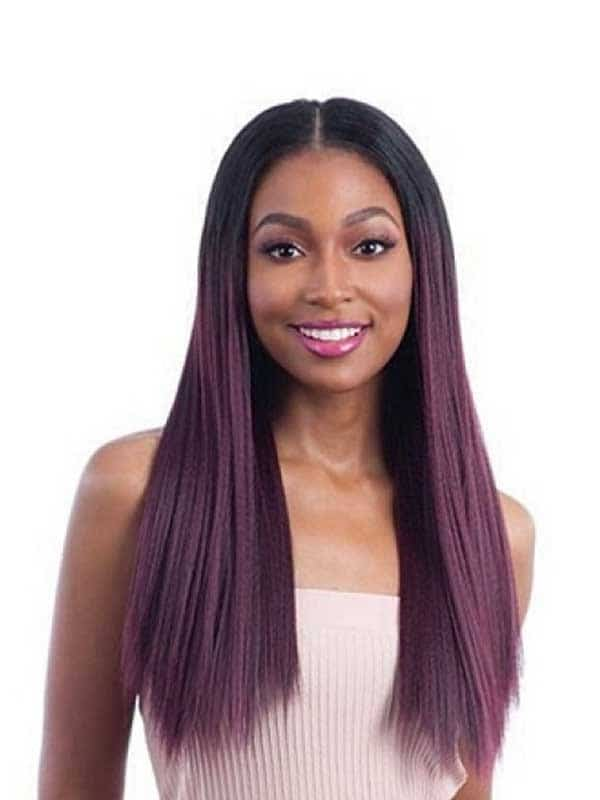 Equal Oval Part Wig Long Straight 22″