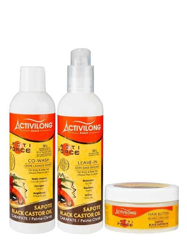 Pack Wash N' Go Leave-In Actiforce