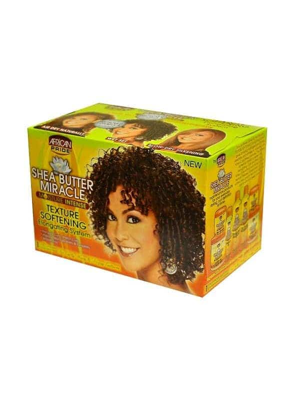 African Pride Shea Butter Miracle Texture Softening System
