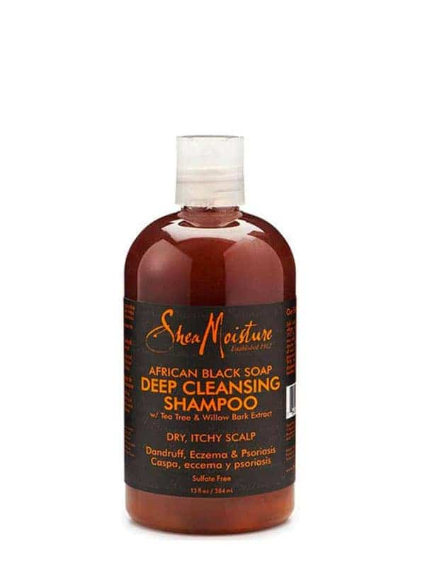 African Black Soap Deep Cleansing Shampoo 384ml Sh...