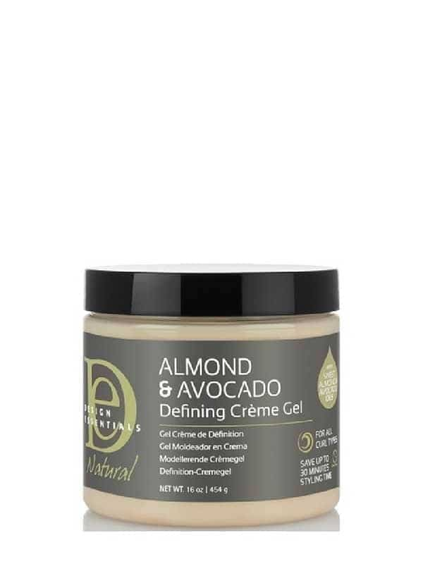 Almond Avocado Curl Defining Crème Gel 454g Desig...
