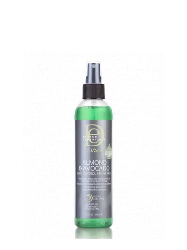 Almond Avocado Curl Control & Shine Mist 236,5ml Design Essentials