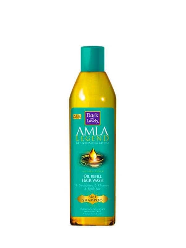 Amla Legend 3-in-1 Shampoo Oil Refill Hair Wash 250ml Dark & Lovely