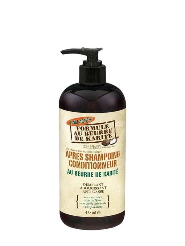 Après-shampoing Au Beurre De Karité 473ml Palmer...