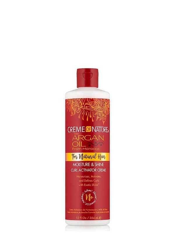 Argan Oil Moisture & Shine Curl Activator Crem...