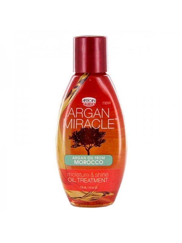 Argan Miracle Moist & Shine Oil Treatment 118 Ml African Pride
