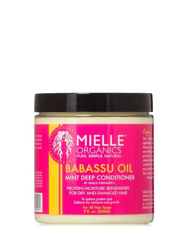 Babassu Oil and Mint Deep Conditioner 240ml Mielle...