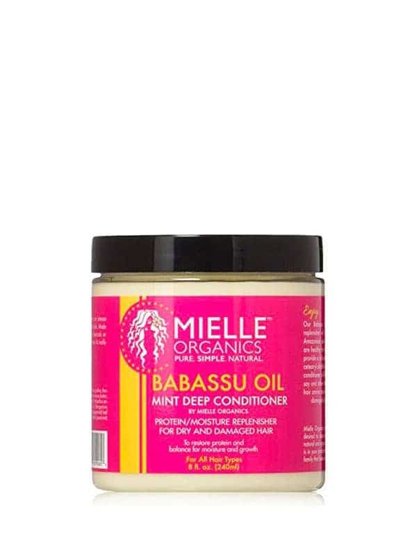 Babassu Oil Mint Deep Conditioner 240ml Mielle Org...