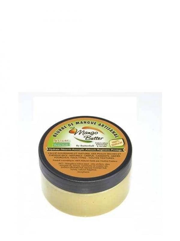 Beurre De Mangue Artisanal Nature, Mango Butter 100 Ml