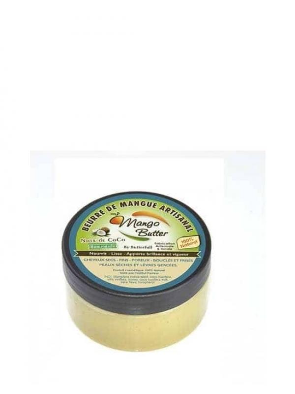 Beurre De Mangue Artisanal Noix De Coco 100ml Mango Butter