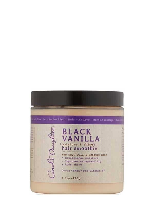 Black Vanilla Hair Smoothie 226g Carol's Daugther