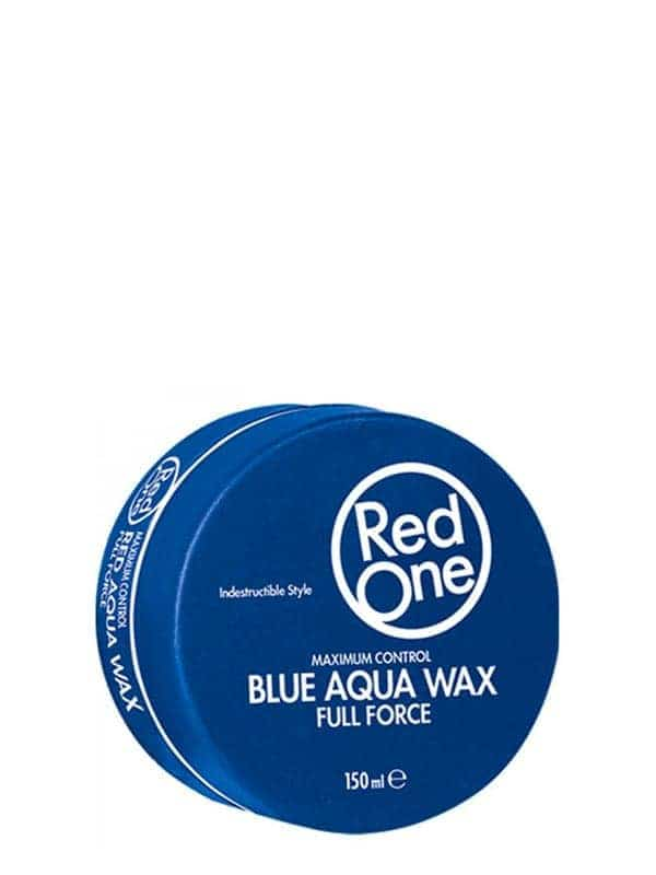 Blue Aqua Hair Gel Wax Full Force 150 Ml Red One W...