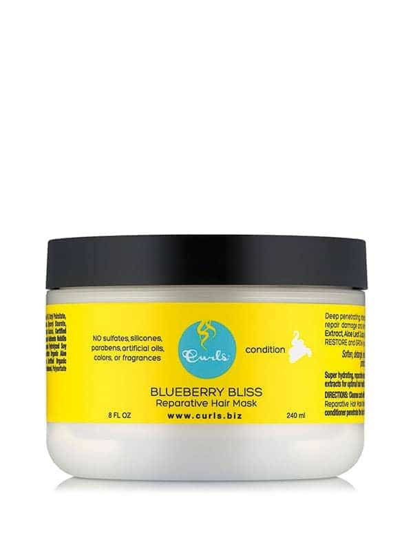 Blueberry Bliss Reparative Hair Mask 236ml Curls