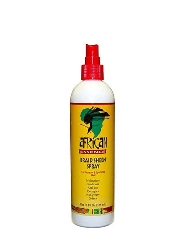 Braid Sheen Spray 355ml African Essence