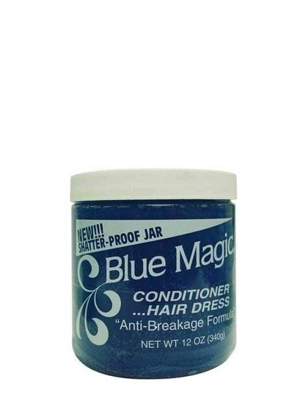Brillantine Bleue Hair Dress 340g Blue Magic