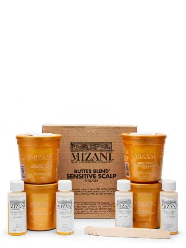 Butter Blend Sensitive Scalp Relaxer Mizani