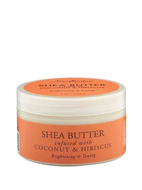 Coconut & Hibiscus Body 100% Organic Shea Butter Infused With Coconut & Hibiscus 114ml, Shea Moisture