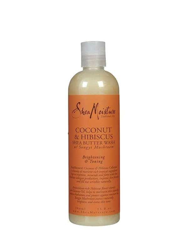Coconut & Hibiscus Body Shea Butter Wash 384ml, Shea Moisture