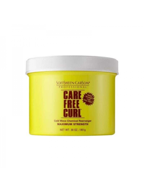 Cold Wave Chemical Rearranger Regular Strength Crème Relaxer 454g Care Free Curl by Softsheen-carson