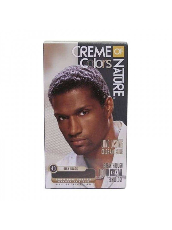 Color Gel Mens Rich Black Creme of Nature
