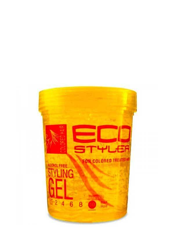 Gel Coiffant Pour Cheveux Colorés 710ml Eco Style...