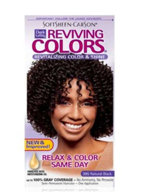Coloration Capillaire Reviving Couleur 395 Noir Na...