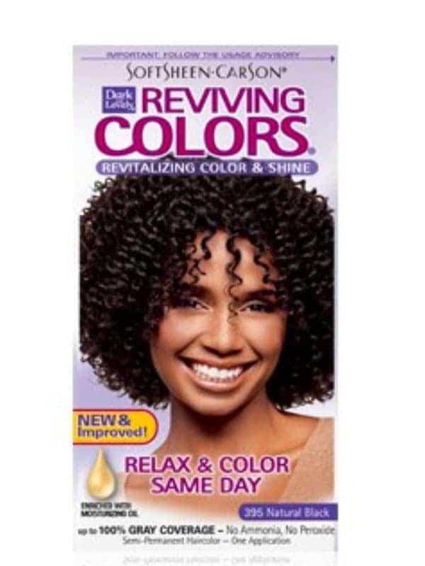 Coloration Capillaire Reviving Couleur 395 Noir Naturel Dark and Lovely