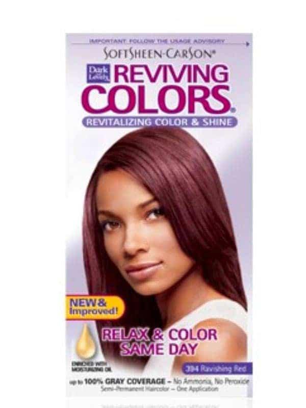 Coloration Capillaire Reviving - Enrichie en Huile...