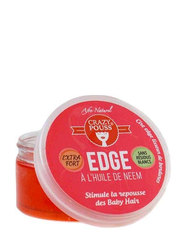 Crazy Pouss Gel Edge a L'huile De Neem 100ml Afro ...